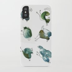 Blue Birds iPhone X Slim Case