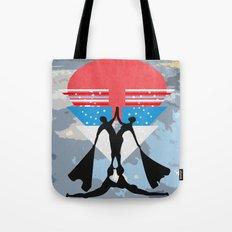 man power Tote Bag