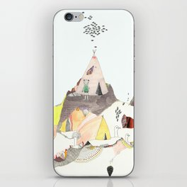Kids Discover Magic Mountain iPhone Skin