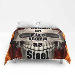 Forged in Fire Skull Comforters