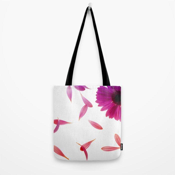 purple petaled flower  Tote Bag