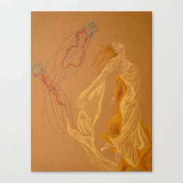 The jellies Canvas Print