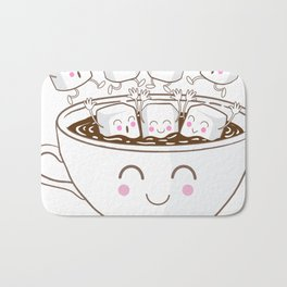 Marshmallow fun! Bath Mat