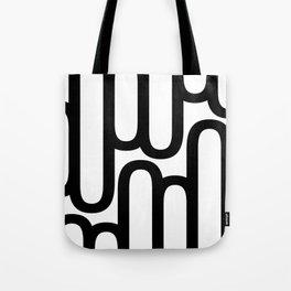 U Pattern Tote Bag