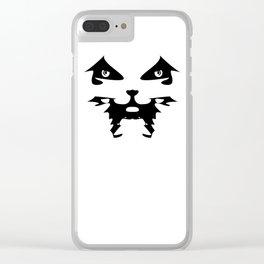 Dani Face Symbol Clear iPhone Case