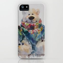 Fashion bear iPhone Case