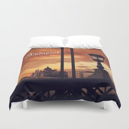 Around the world in 80 photos | Budapest  Duvet Cover