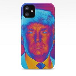 Pop Art President Trump iPhone Case