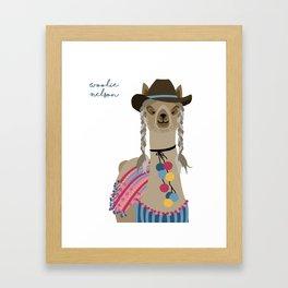 Woolie Nelson Framed Art Print