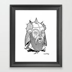 Warrior's Decapitated Head Framed Art Print