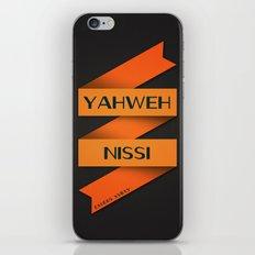 YAHWEH NISSI  iPhone & iPod Skin