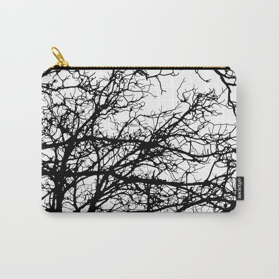 black tree Carry-All Pouch