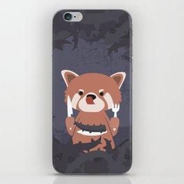 Hungry Raccoon iPhone Skin