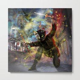 Ninja Catana Metal Print