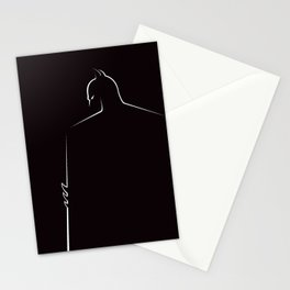 BAT MAN SHADOWS Stationery Cards