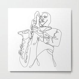 Caffeine Jolt Jazz Metal Print