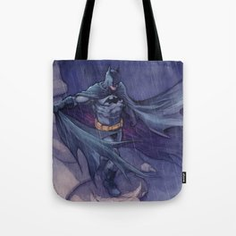 DarkKnight watercolor Tote Bag
