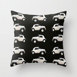 Fiat 500 Toppolino - italian vintage automobile - #society6 #buyart Throw Pillow