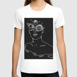 Univers around my head T-shirt