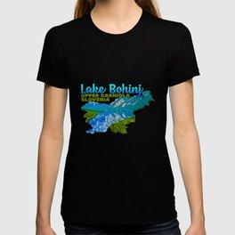 Lake Bohinj Upper Carniola Slovenia Lake Water Tree Hill Green T-shirt