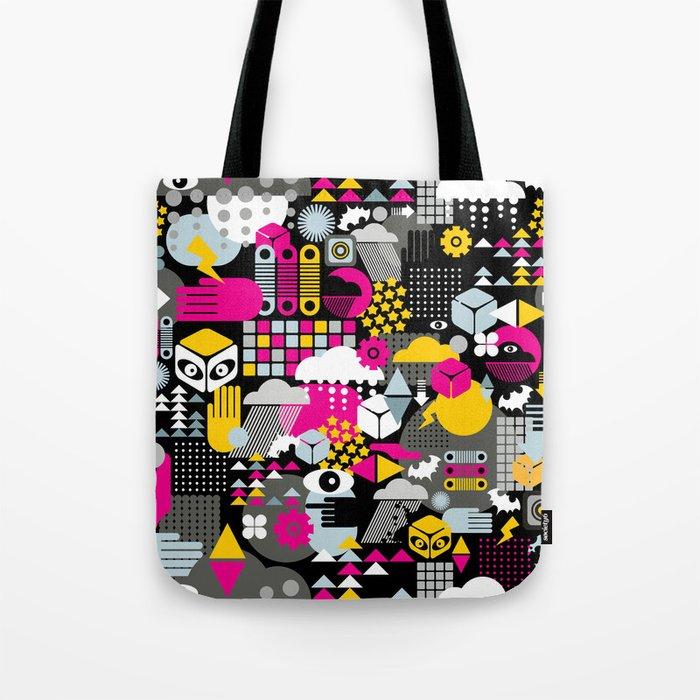 Abstract. Tote Bag
