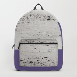 Ultra Violet on Concrete #3 #decor #art #society6 Backpack