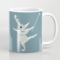 soul eater Mugs featuring fools! excalibur soul eater by Rebecca McGoran