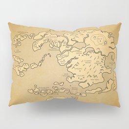 Avatar Last Airbender Map Pillow Sham