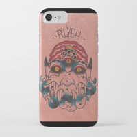cthulhu iPhone & iPod Cases featuring Cthulhu by Zack Traum