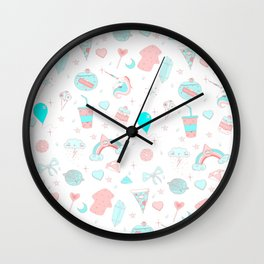 Unicorn stuff Wall Clock