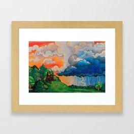 Thunder Bears Framed Art Print