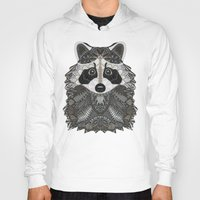 ornate Hoodies featuring Ornate Raccoon by ArtLovePassion