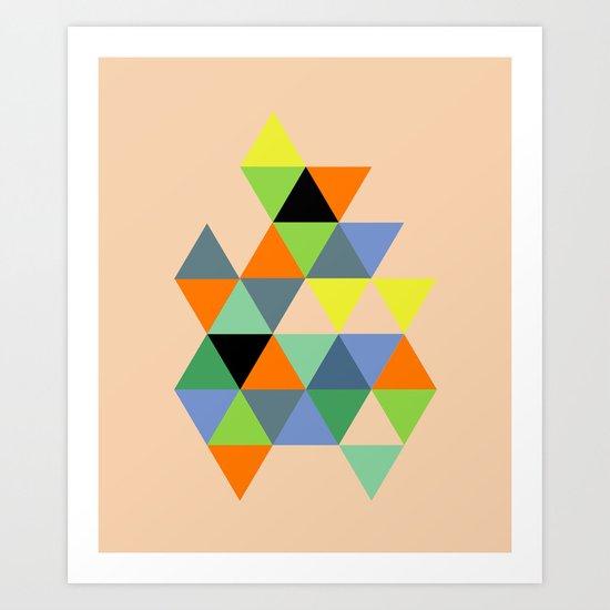 Abstract #693 Art Print