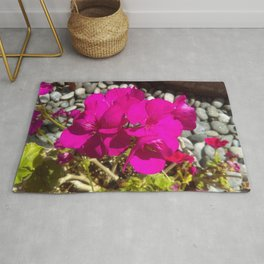 Flower bed Rug