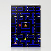 pacman Stationery Cards featuring Pacman by Dano77