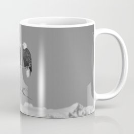 Perched With A View Duo - B & W Coffee Mug