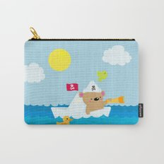 Bear in paper boat Carry-All Pouch