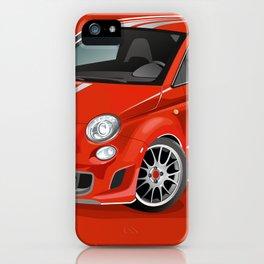FIAT Abarth 500 iPhone Case
