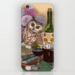 The Tipsy Owl iPhone Skin