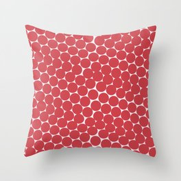 Abstract Pomegranate Pattern Throw Pillow