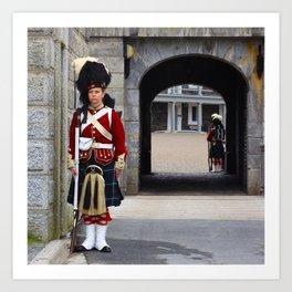 Guard of the Halifax Citadel Art Print