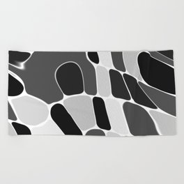 Funky Abstract 4 Beach Towel