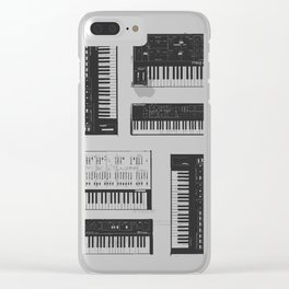 Collection : Synthetizers Clear iPhone Case