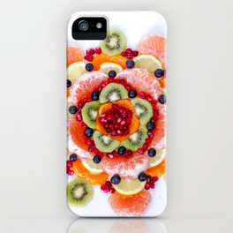 """What the Fruit"" Mandala iPhone Case"