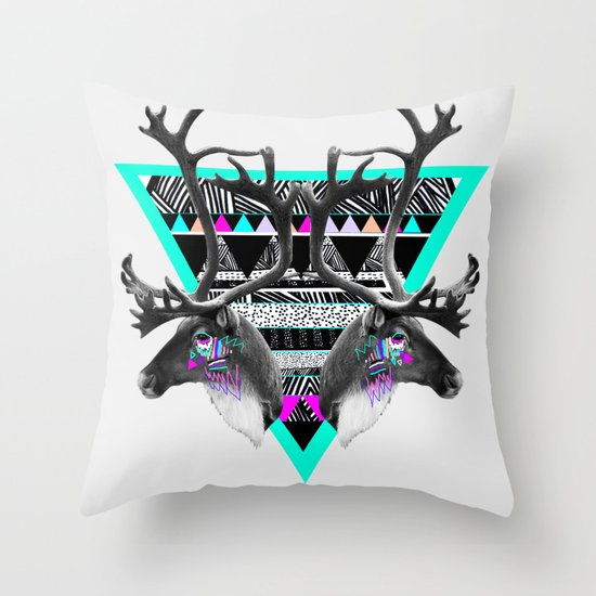 ▲CARIBOU▲ Throw Pillow