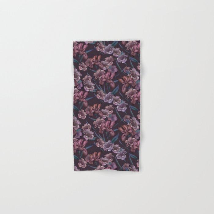 Hand-Drawn Bohemian Floral  Hand & Bath Towel