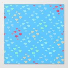 Diamond Dreams Canvas Print