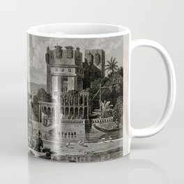 Egyptian Fortune-tellers Outside a Palace Coffee Mug