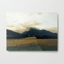 Harvest before rain Metal Print