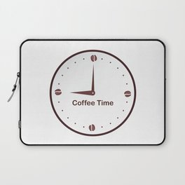 It is the Coffee time - I love Coffee Laptop Sleeve